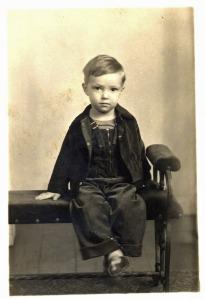 Billy Lane at Age 3