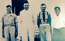 Schwegler Men, Left Harrison, Ben, Harley, and father Julius