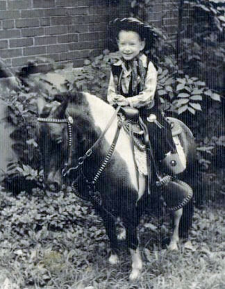 Ferguson, David on his Horse Altered