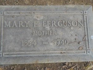 Baker, Mary E. Headstone