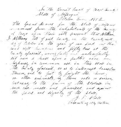 Williams, William J, Osage County Historical Society, Loose Files, File 156, Doc. 19 (3) - Copy