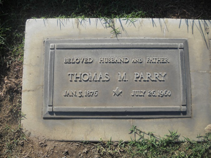 Parry, Thomas Headstone