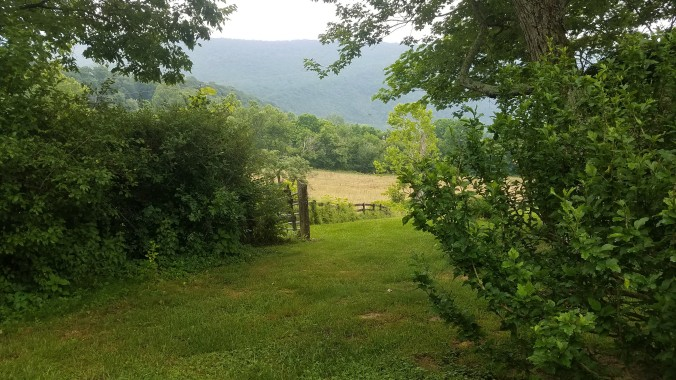 View Toms Brook from house